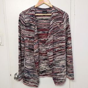 Nic + Zoe open Cardigan sweater size s